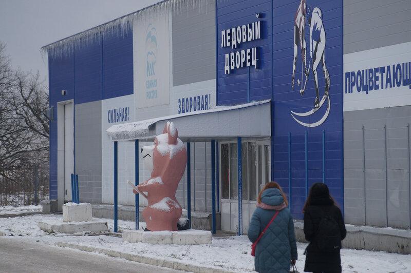 В Вольске прошел марафон на льду «Мы выбираем жизнь»