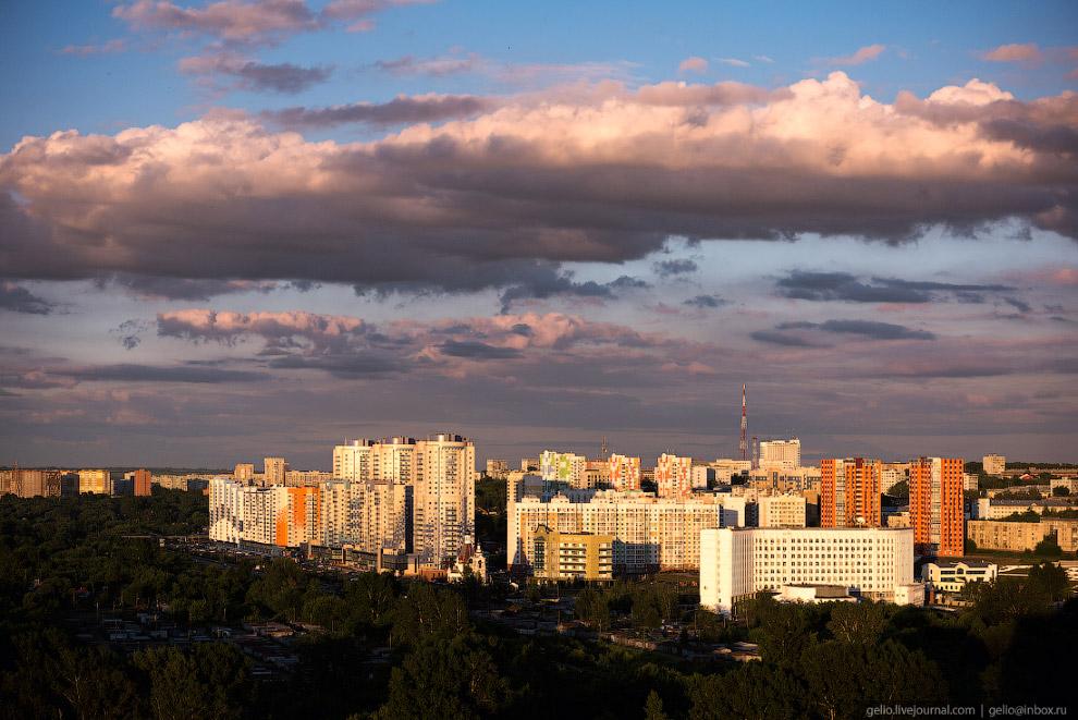 43. Жилой комплекс «Кемерово-Сити».
