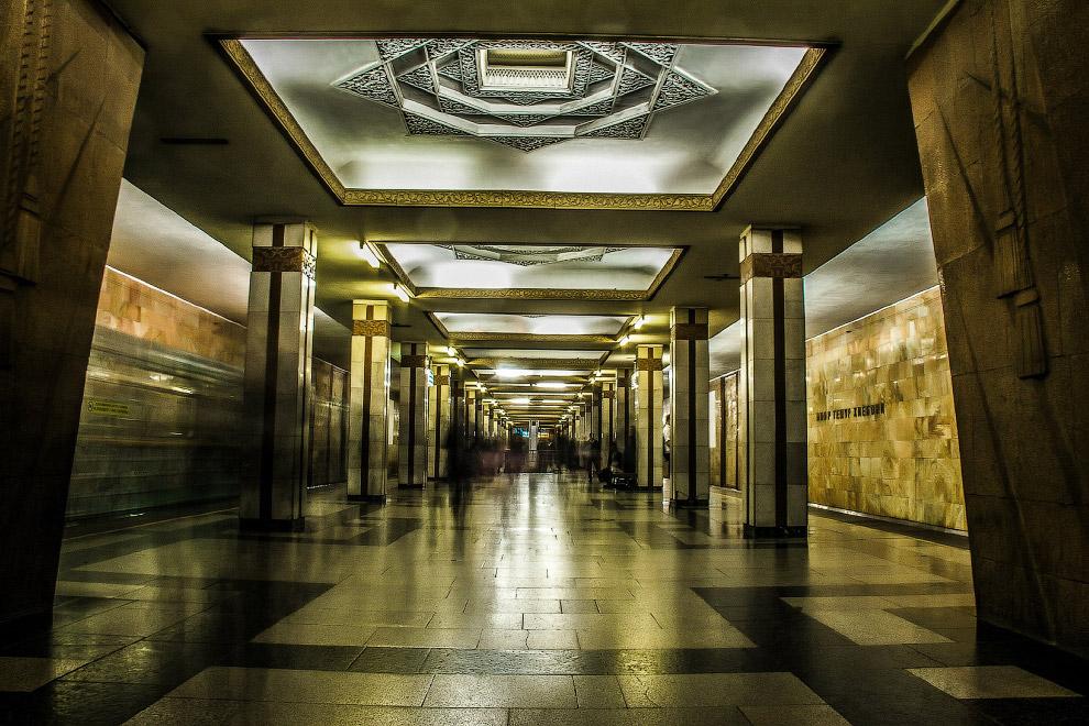 5. Станция Мустакиллик:
