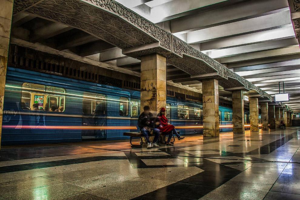 9. Станция «Новза» (бывш. им.Хамзы):