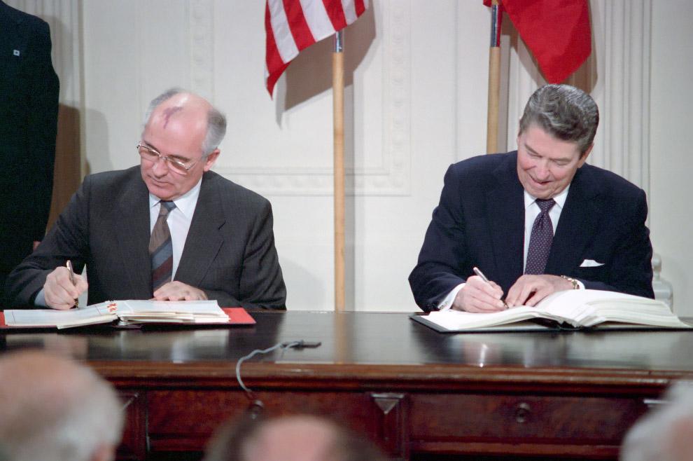 6. Все довольны! Встреча в Вашингтоне 9 декабря 1987 г.: