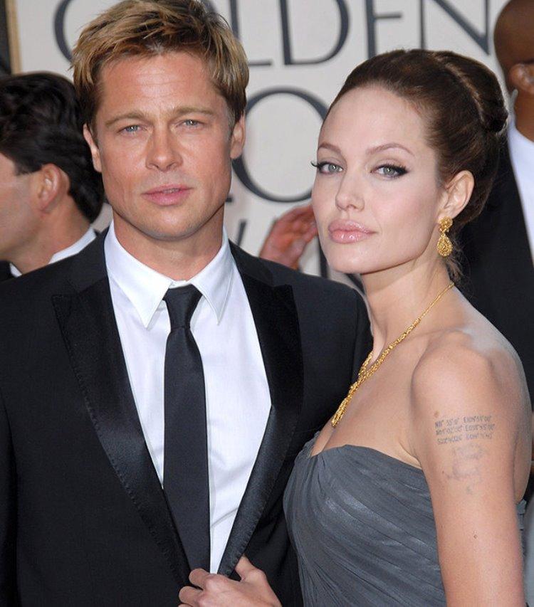История о том, как Джоли увела супруга у Дженнифер Энистон, позволила производителям футболок хорошо