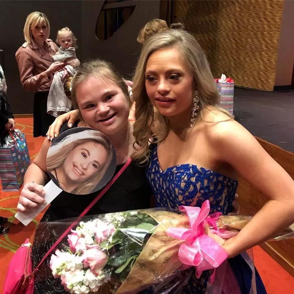 Девушка с синдромом Дауна впервые в истории США участвовала в конкурсе красоты