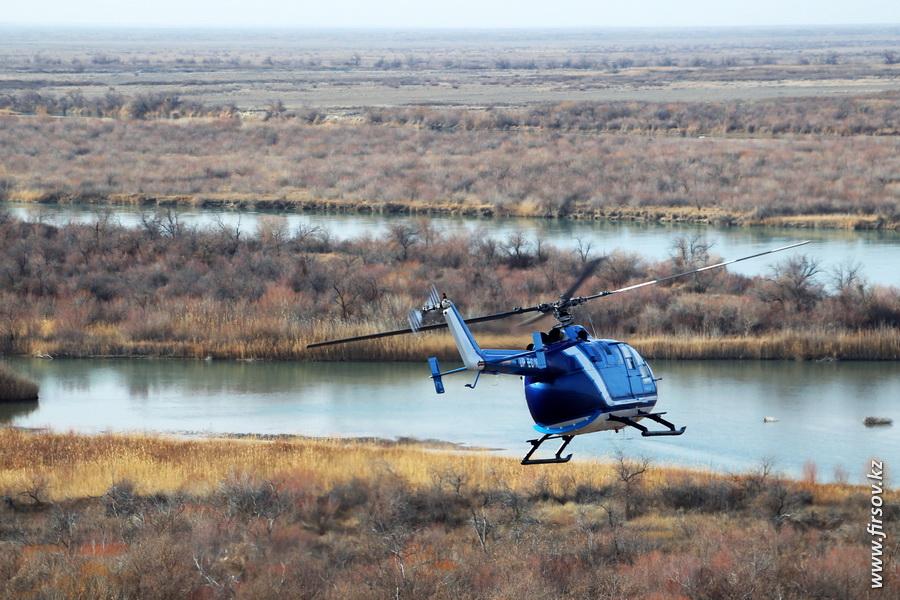 Вертолетная прогулка над Или