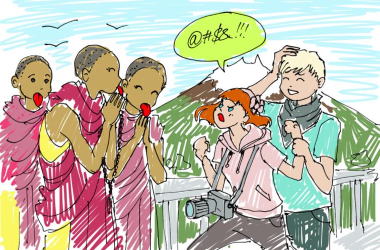 Факты о культуре поведения в разных странах: сморкающиея немцы, чавкающие азиаты и плюющиеся...