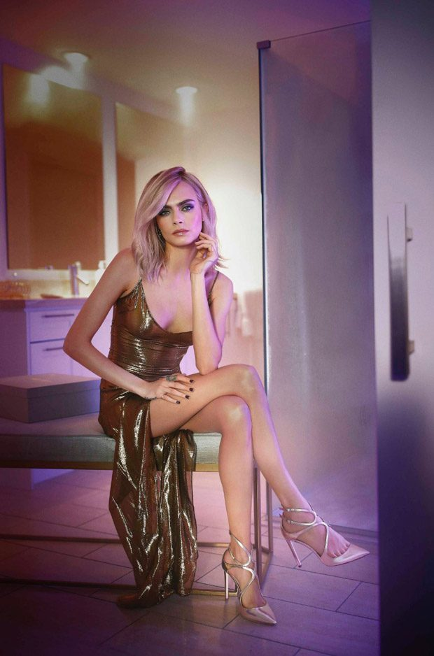 Cara Delevingne is the Face of Jimmy Choo Cruise 2018 Collection