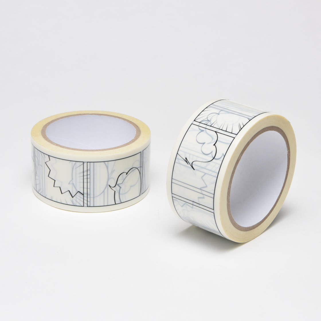 Manga Tape – An adhesive to create comic strips on your packages!