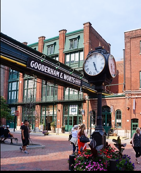 """Distillery Historic District"""