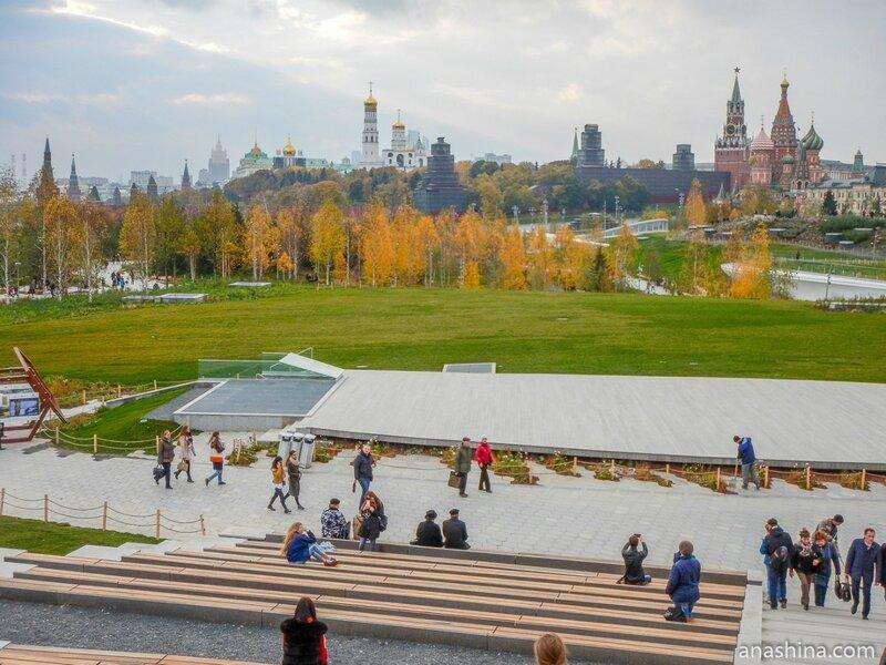 "Парк ""Зарядье"", Москва"
