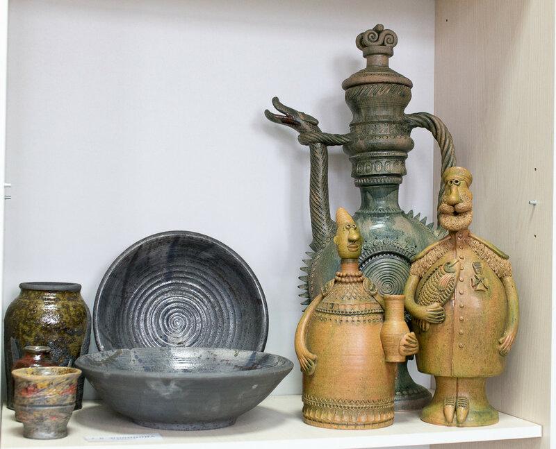 город Скопин, музей гончарства