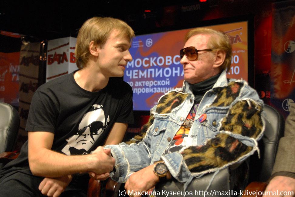 Игорь Неведров и Роман Виктюк