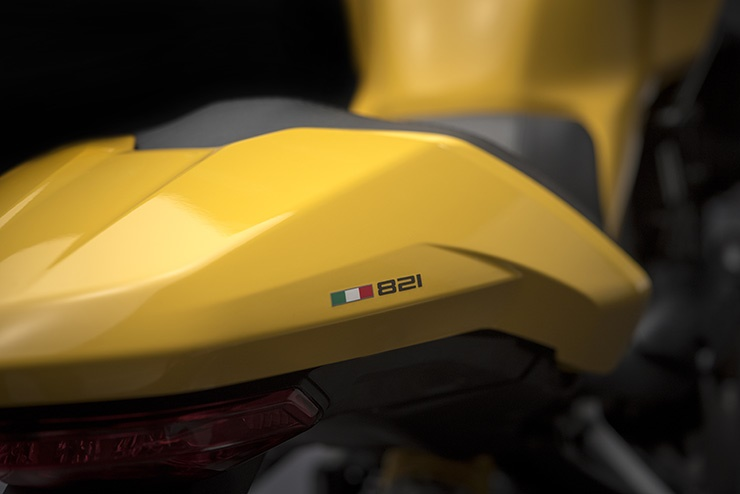 Обновленный Ducati Monster 821 2018