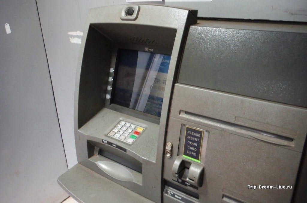 Банкоматы в Индии такие же как и везде