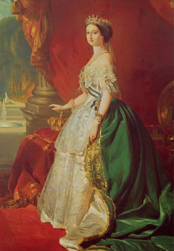 после Franz Xaver Winterhalter,  L'imperatrice Eugenie