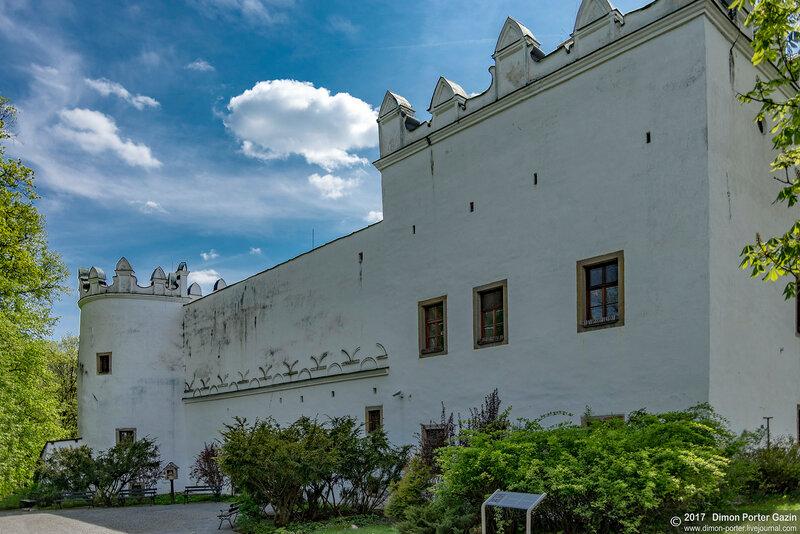 Стражки. Стражский замок