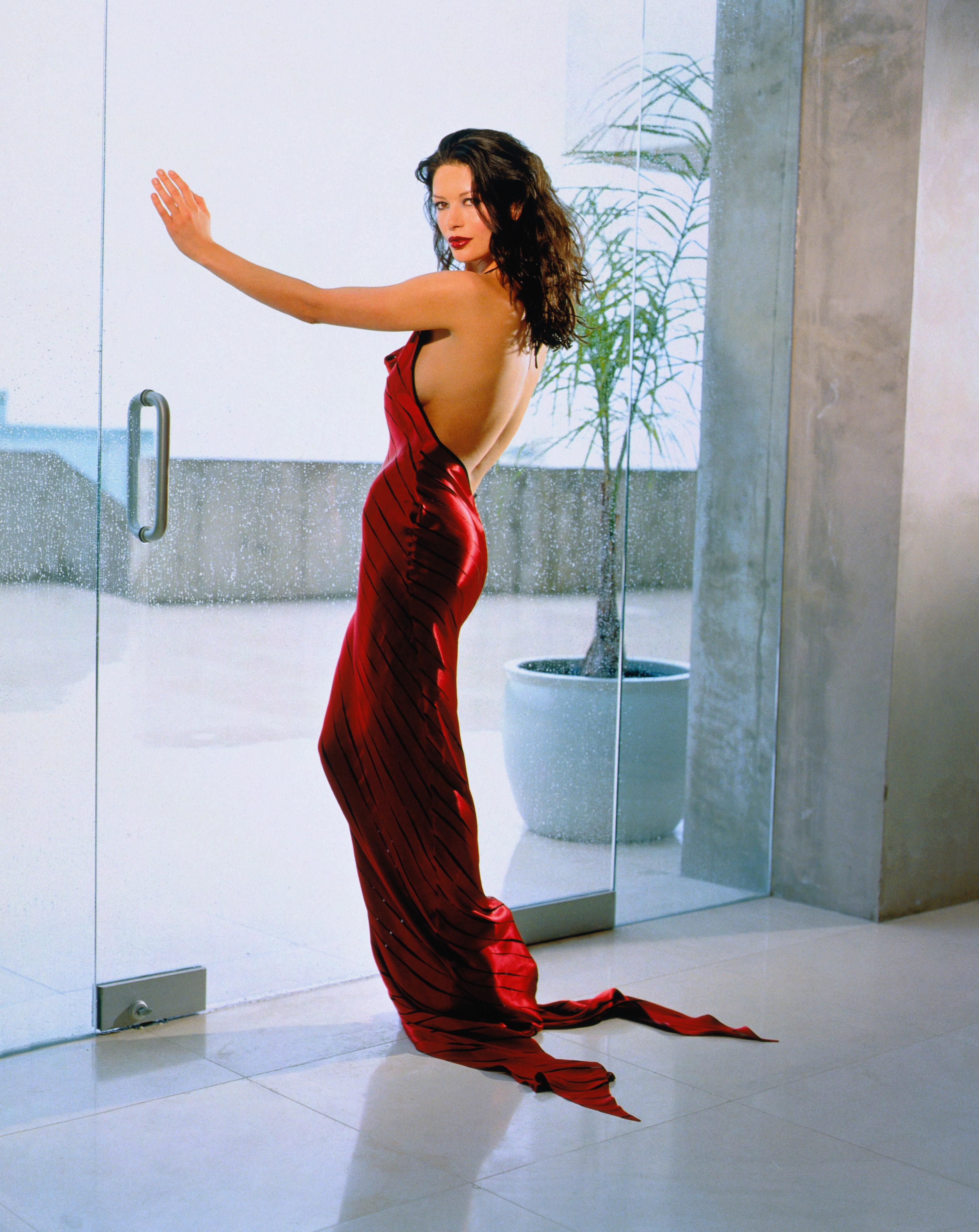 Actress Catherine Zeta-Jones