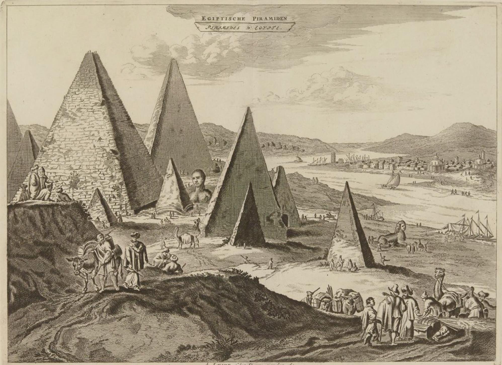 10. Египетские пирамиды