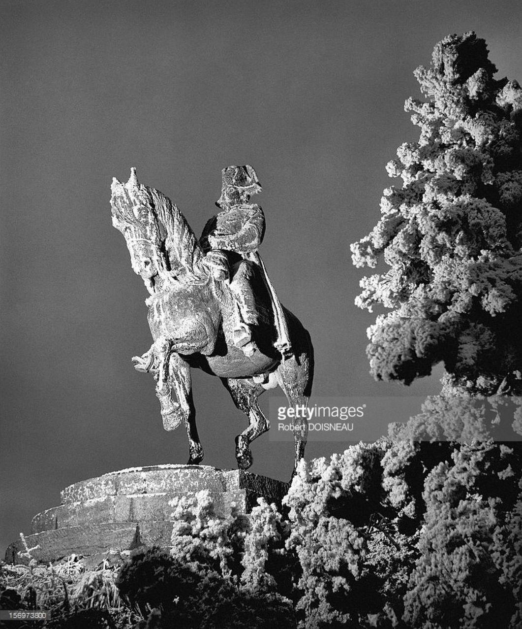 1957. Статуя Наполеона в Лаффре
