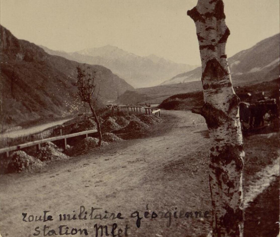 11. Военно-Грузинская дорога. Станция Млета