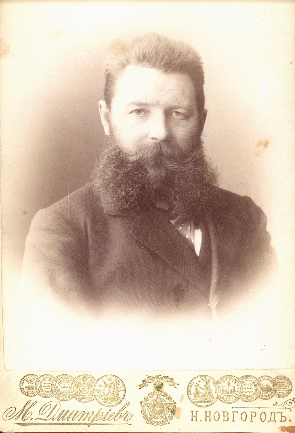Поясной портрет М. П. Дмитриева