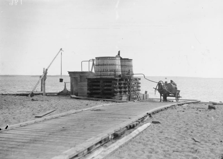 1919.  Питьевые водонагреватели в Медвежьей Горе