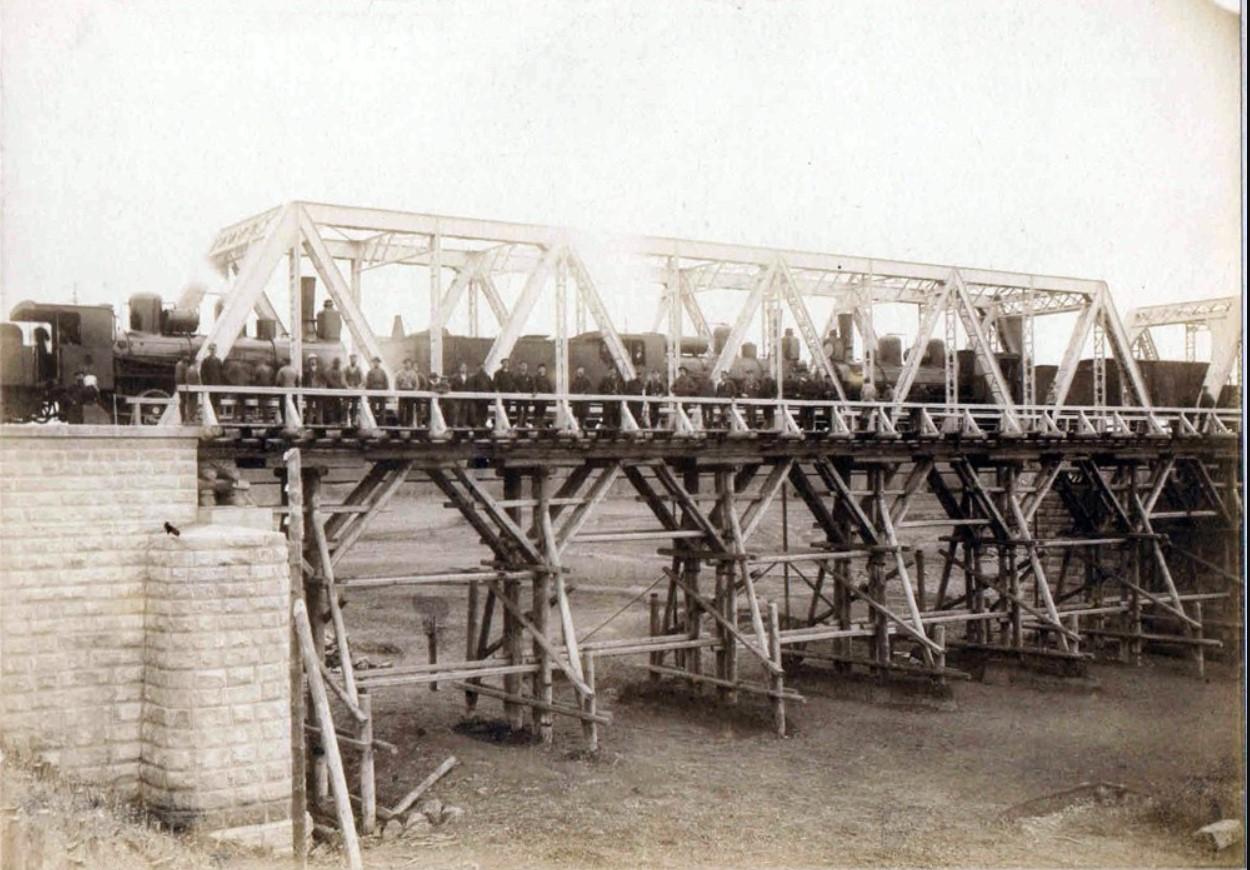 Временный мост американского типа