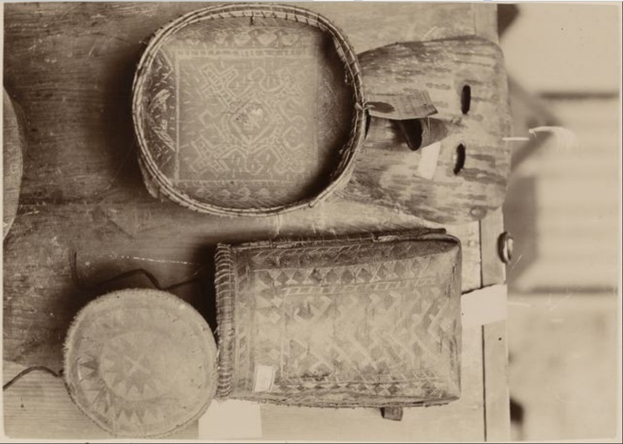 Образцы материальной культуры хантов из Тобольского музея