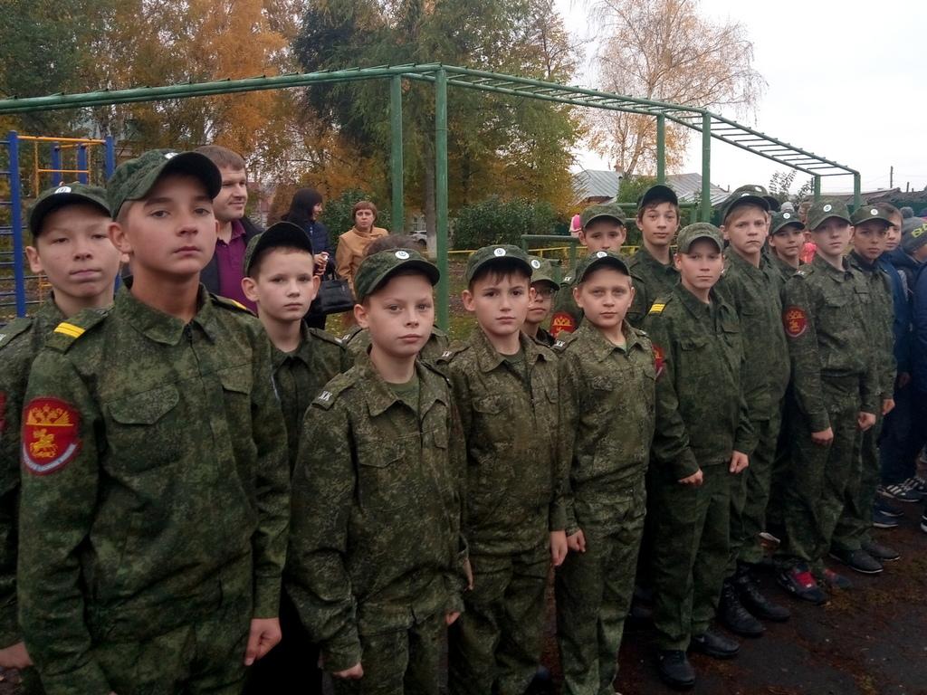 Соревнования юных пожарных
