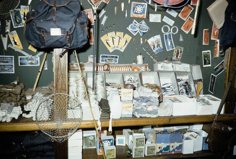 1959 Рыболовные снасти в Москве. Harrison Forman.jpg