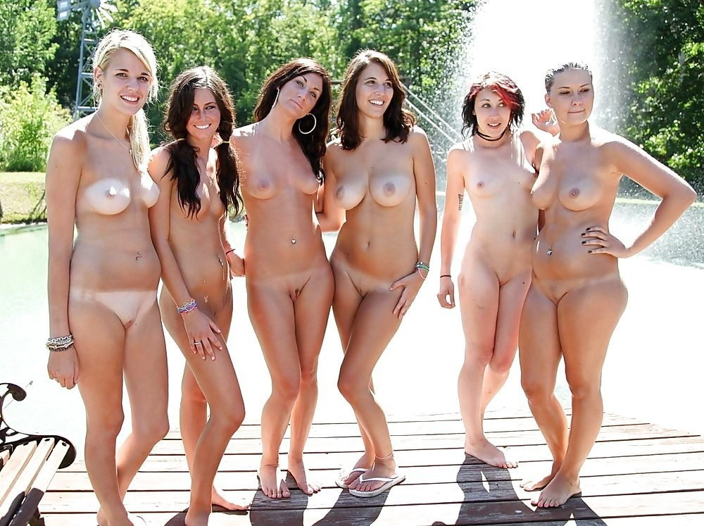 Nude girl friends