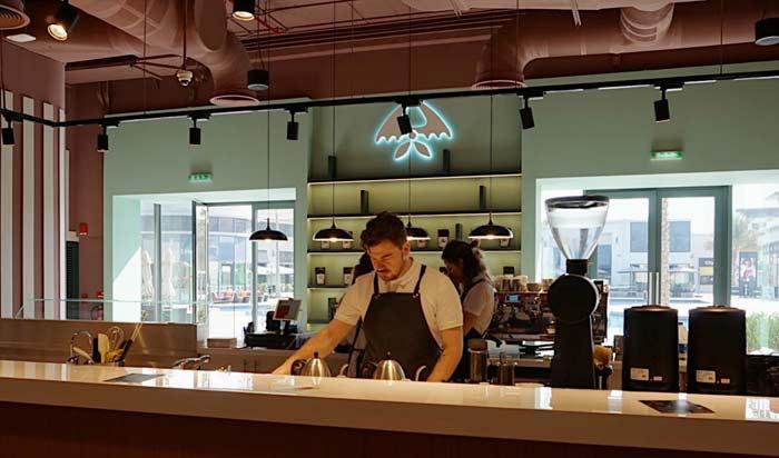 «Даблби» открыла кофейню в Дубае