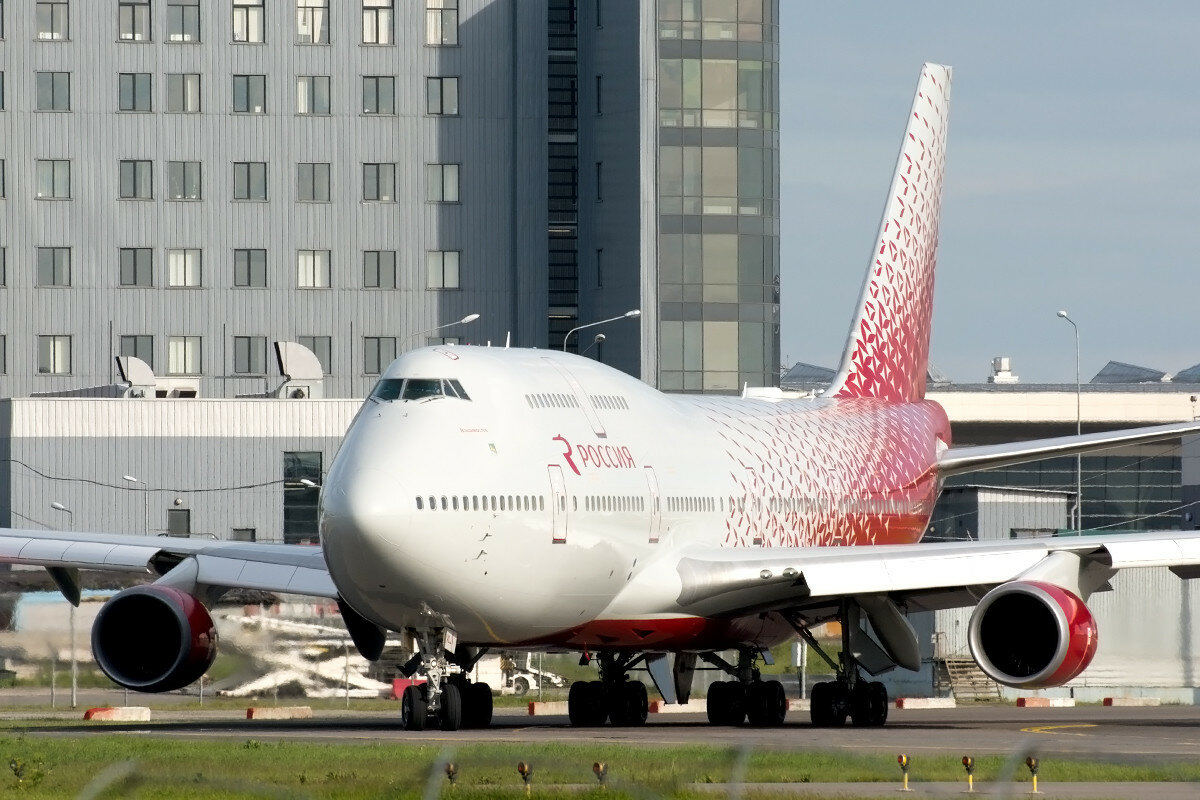 Boeing 747-446. Rossiya Airlines. EI-XLJ.