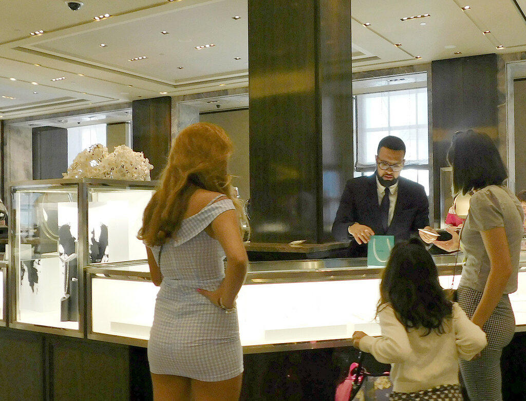 Tiffany Store In New York