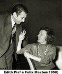 Edith Piaf et Felix Martin