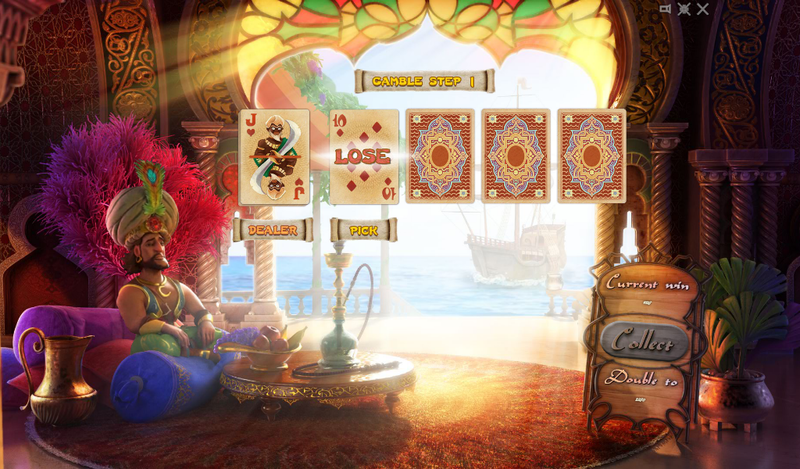 sindbad slot double up game