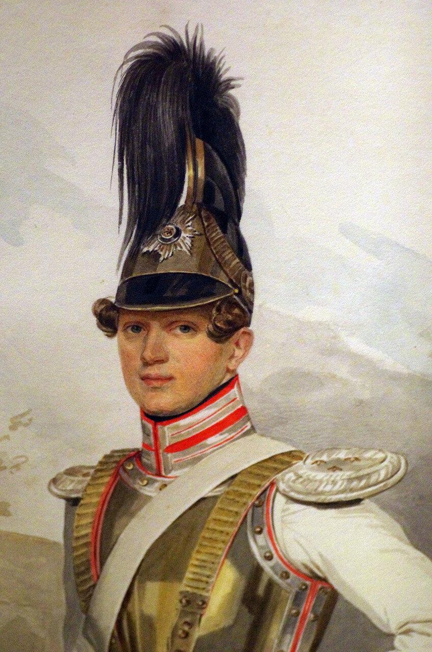 Петр Федорович Соколов. Портрет графа В.Г. Строганова. 1828. ФРАГМЕНТ