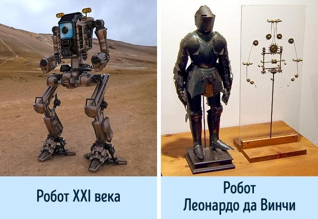 © wikipedia  © pixabay     Леонардо даВинчи был гениальным изобретателем, иникто