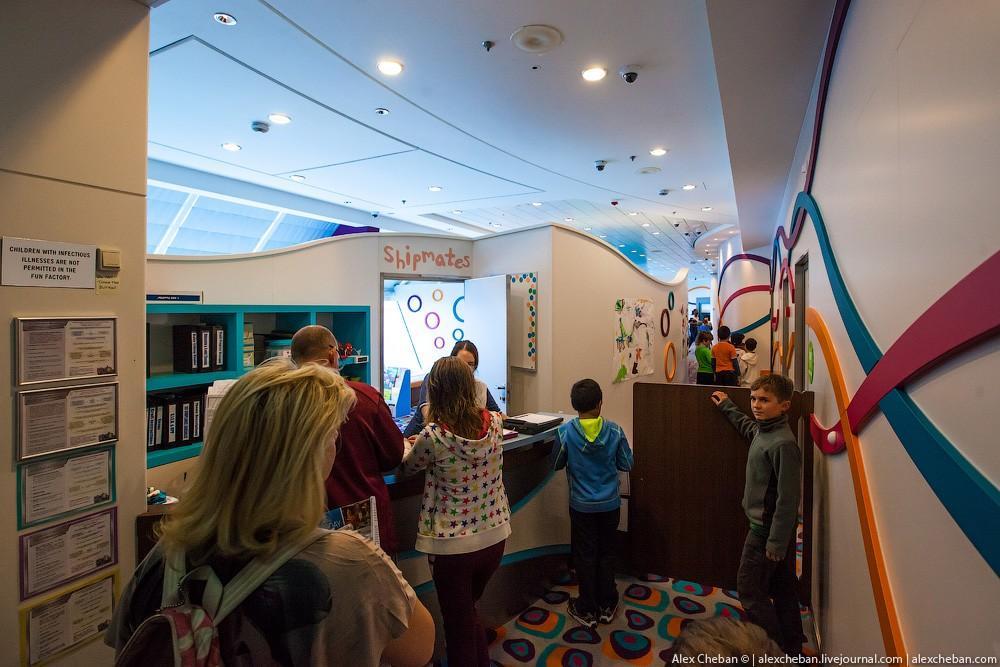 31. Есть отдельная детская игровая комната, причем несколько разных зон для разных возрастов. Во вре