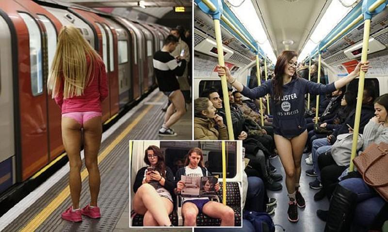 Опа-опа – вот вам и Эуропа... В метро – без штанов! По миру прокатился праздник эксгибиционизма