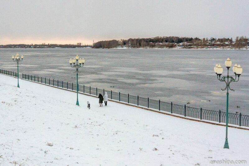 Набережная Волги, Рыбинск