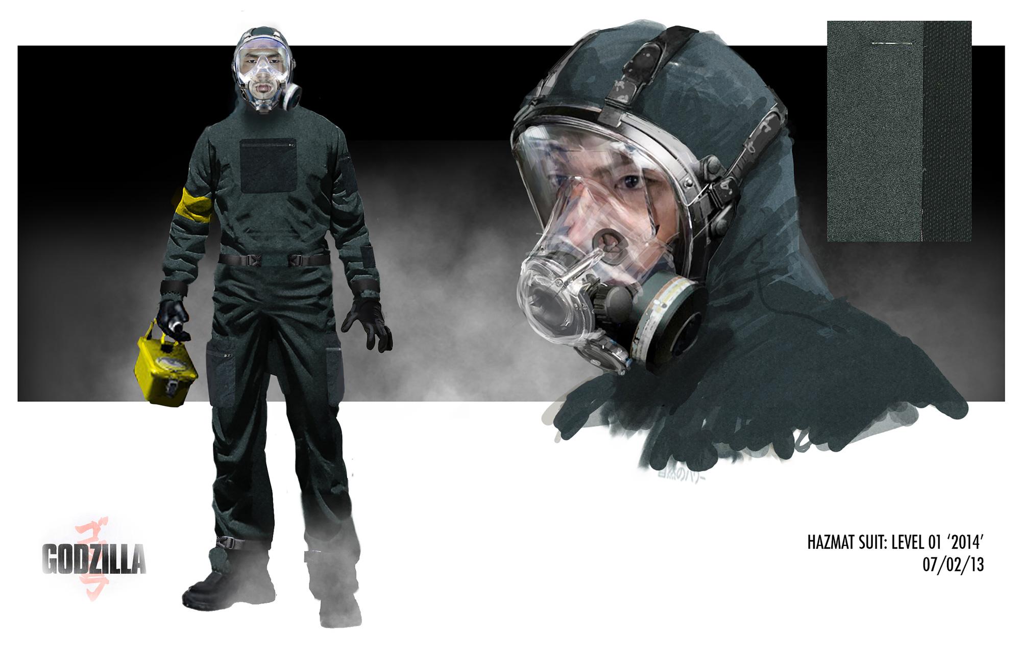 Godzilla Concept Art by Warren Flanagan