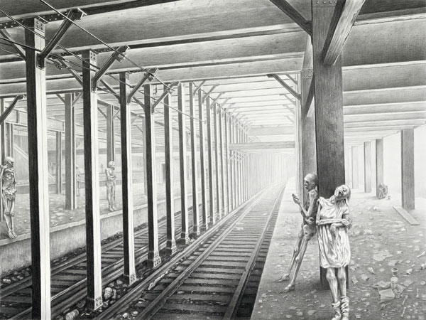 The Extraordinary Drawings of Laurie Lipton