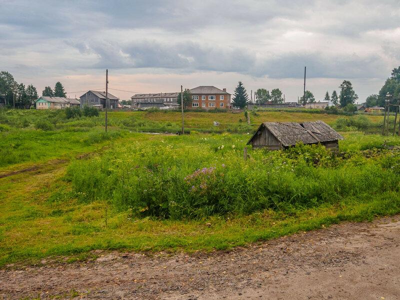 Подлинно русская деревня