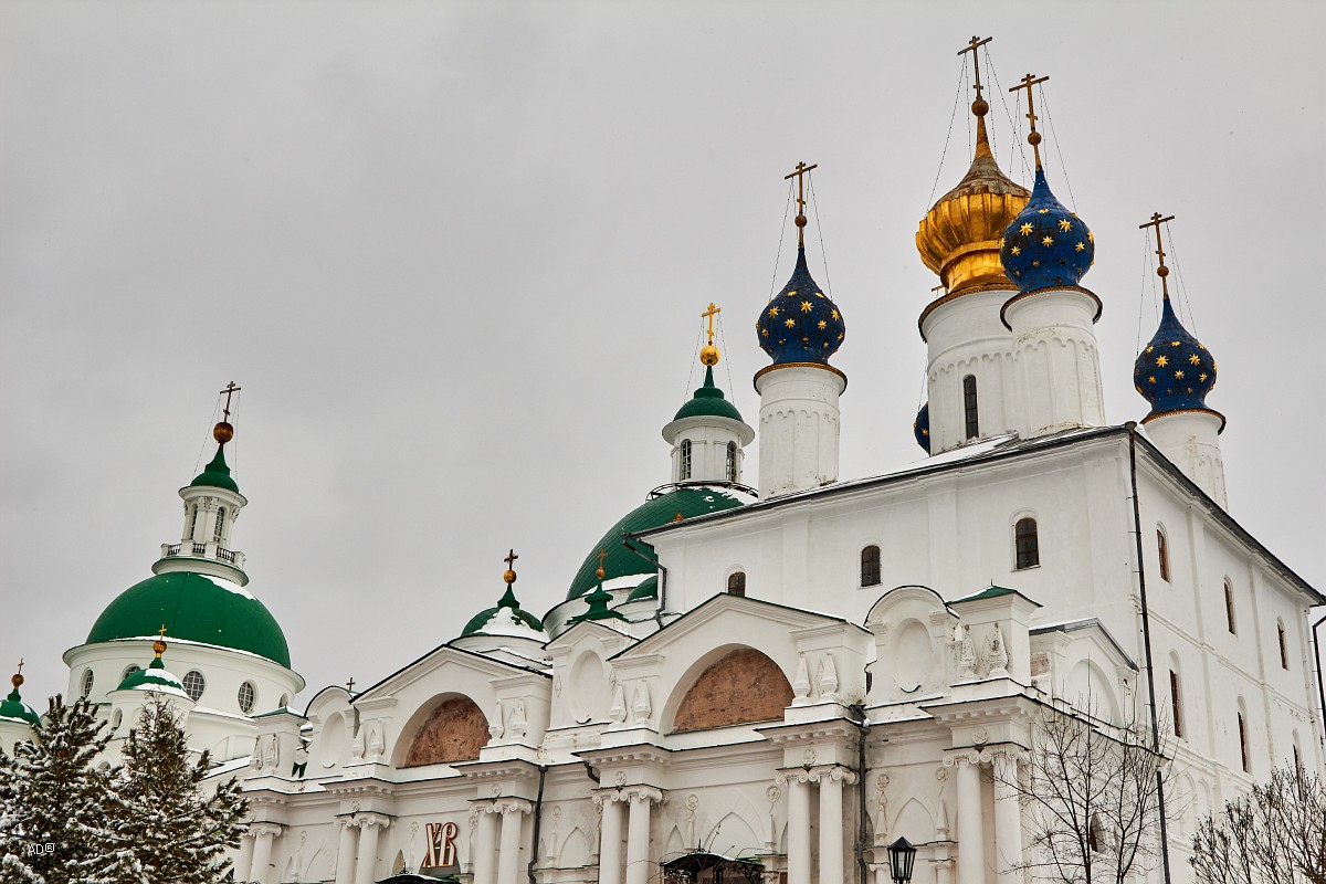Cathedral of Conception of St Anna (Zachatievsky Cathedral), Monastery of St. Jacob Saviour (rus.: Spaso-Yakovlevsky Monastery), Rostov, Russia