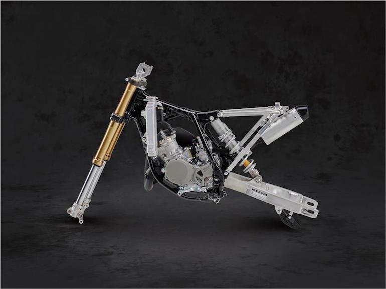 Новый детский кроссбайк Yamaha YZ65
