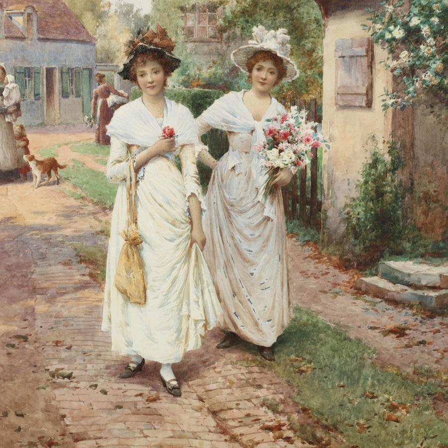 Strangers to the Village , 1896.Jpeg