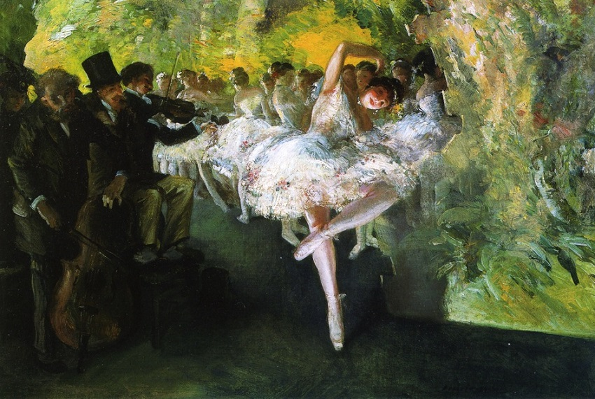 Rehearsal of the Ballet