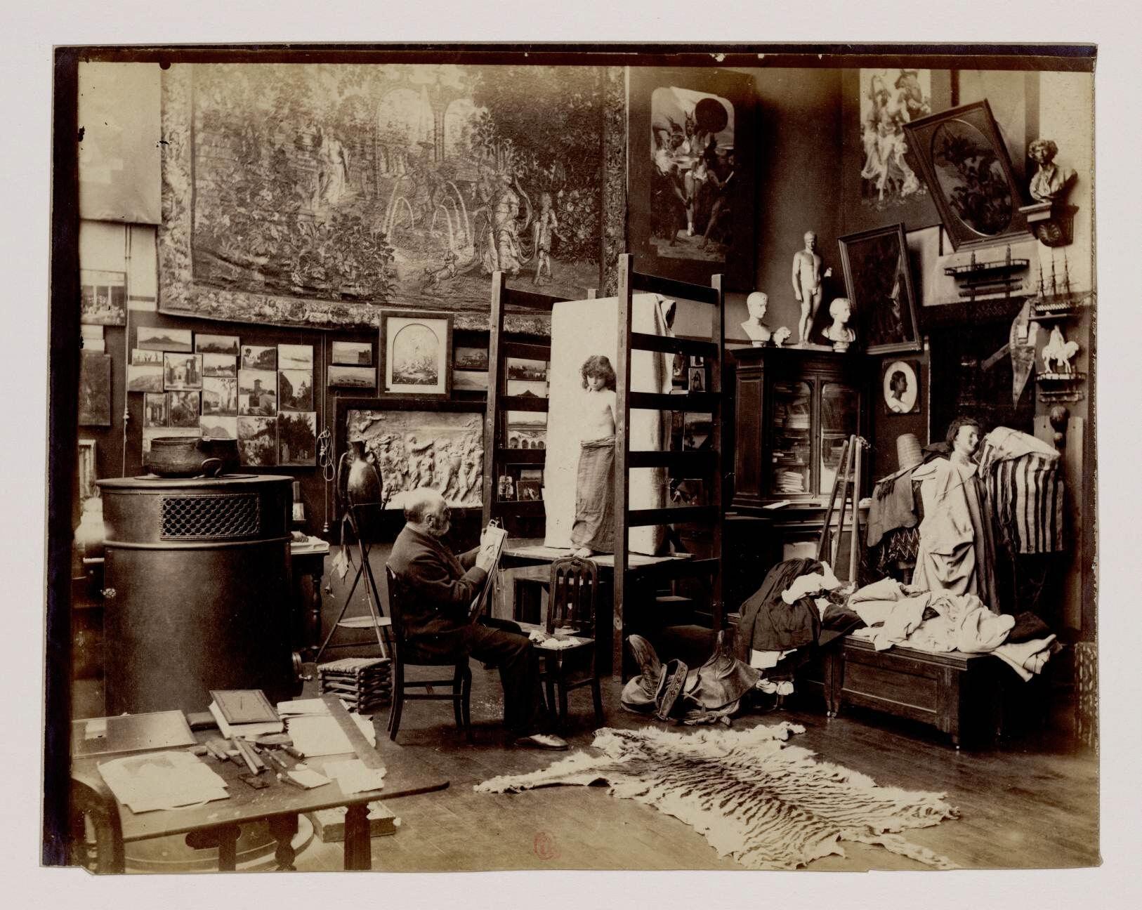 20. Гюстав Кларен Родольф Буланже (1824-1888)  — французский художник, представитель салонной живописи и ориенталист