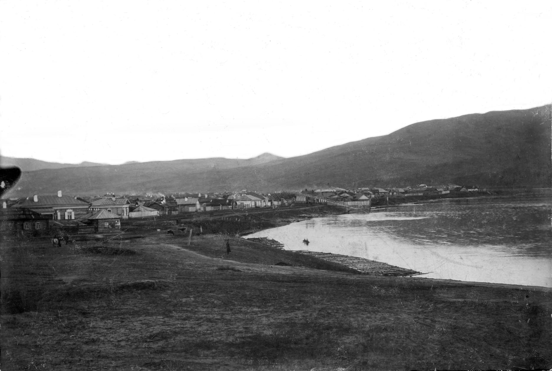 Вид на юг с набережной