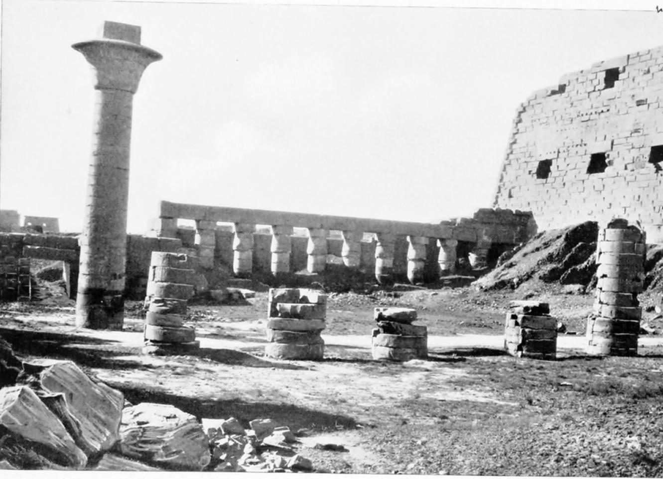 Карнак. Храм Амон-Ра. Первый двор